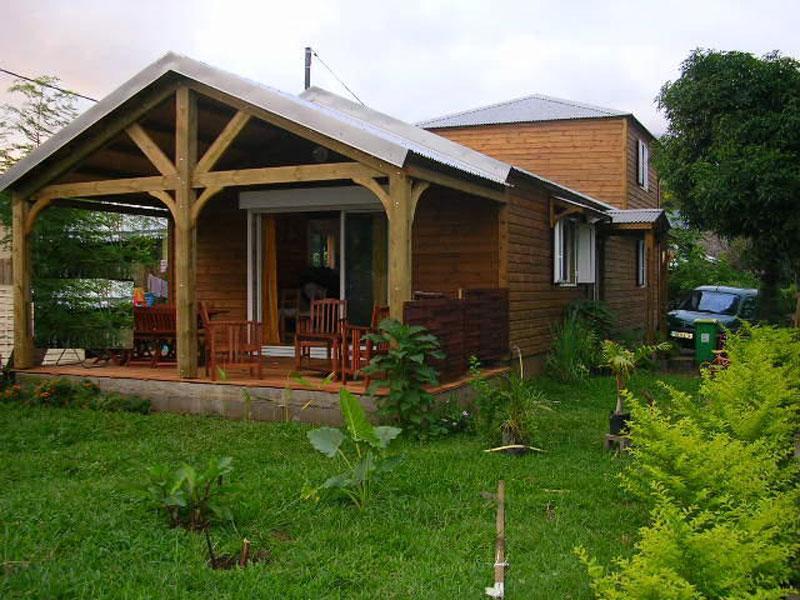 concept habitat bois industrie fabrication de maison ossature bois la r union